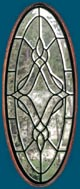 Madison clear leaded glass