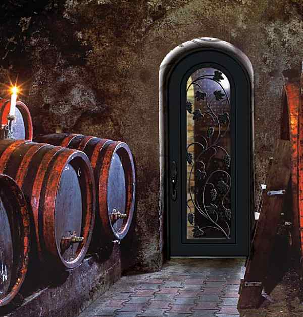 Wine Cellar Beveled Glass And Leaded Glass Entry Doors Houston