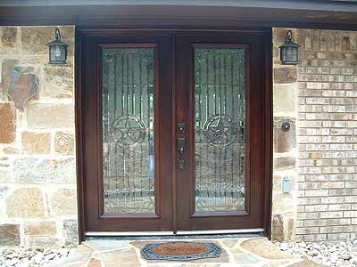 Texas Design Leaded Beveled glass