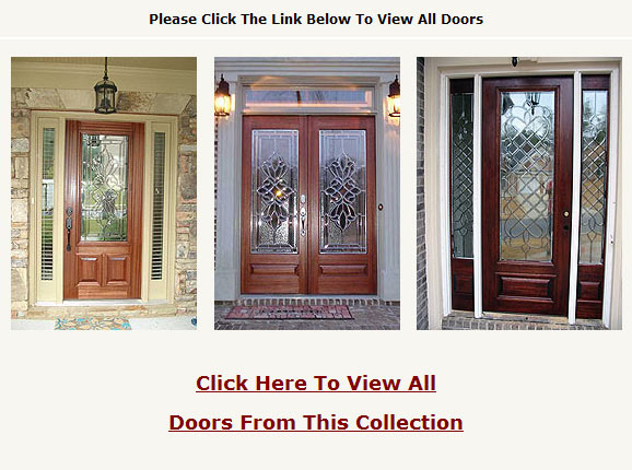 Stained Glass Windows - Beveled Glass Doors and Leaded Glass French Doors Houston - Beaumont Texas