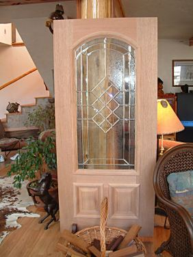 Custom Designed Mahogany Doors Custom Designed Wooden