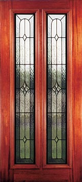 Riogrande Beveled Glass And Leaded Glass Entry Doors