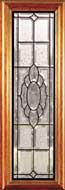 Beveled glass entry doors