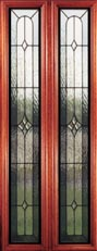 Veracruz leaded glass doors