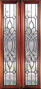 Royalty Beveled Glass And Leaded Glass Doors Houston
