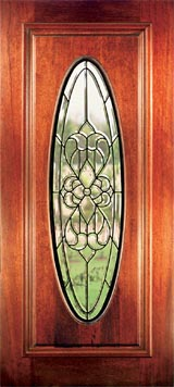 Hampton full oval Exterior doors