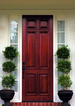 Solid Wood Front Doors on Doors Solid Wood Panel Exterior Doors Custom Designed Wood Panel Doors